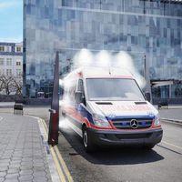 De lavar coches a desinfectar vehículos de SARS-CoV-2: los arcos de lavado se reinventan en tiempo récord