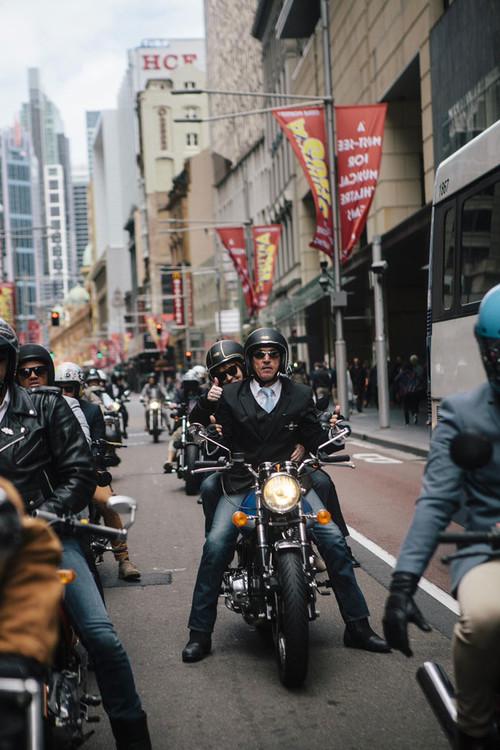 Elegantes motoristas de todo el mundo se dan cita en The Distinguished Gentleman's Ride 2015