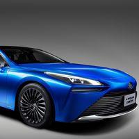Toyota Mirai Concept: 30% más eficiente que el modelo actual y con un cambio radical de diseño