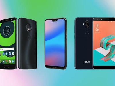 Motorola Moto G6 y G6 Plus, comparativa: así se diferencian del Xiaomi Redmi 5 Plus, Huawei P20 Lite y más