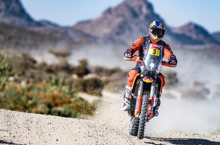 Toby Price se la devuelve a Honda ganando la tercera etapa del Dakar pero el líder de la general es Skyler Howes