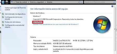 Disponible a través de WSUS el SP1 de Windosws 7