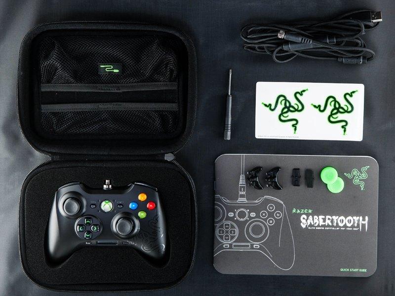 Razer Sabertooth para Xbox 360