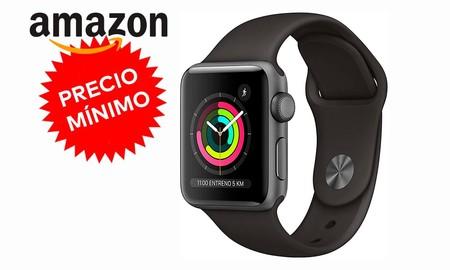 Amazon te deja el Apple Watch Series 3 Sport de 38mm a su precio más bajo hasta la fecha, por sólo 199 euros