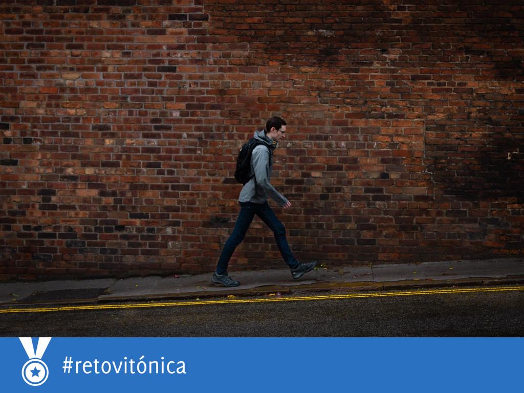 #RetoVitónica: suma más movimiento a tu día a día, ¿puedes caminar 12.000 pasos diarios?