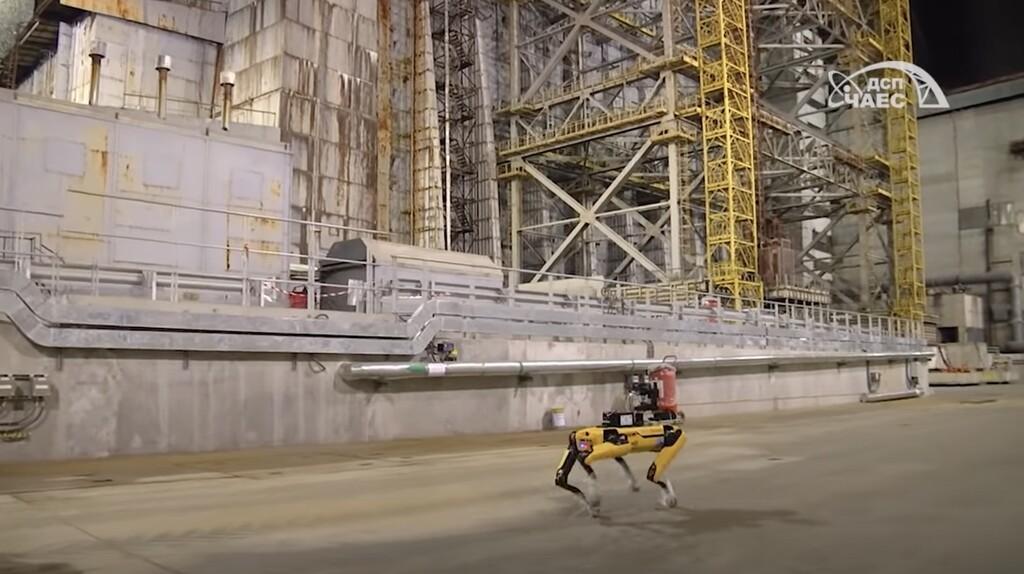 El can robot Spot posee un mas reciente trabajo: supervisar y mesurar la radiación en la zona de exclusión de Chernóbil