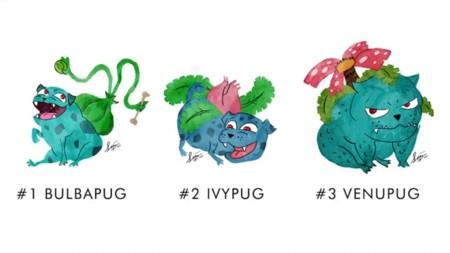 ¿Te gustan los pugs, el arte y Pokémon?
