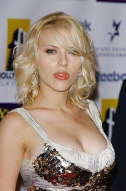 Scarlett Johansson: un look muy sensual