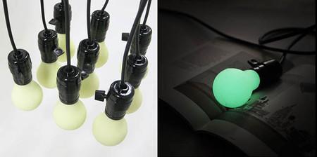 Como fabricarte bombillas luminiscentes para casa que emiten luz sin electricidad