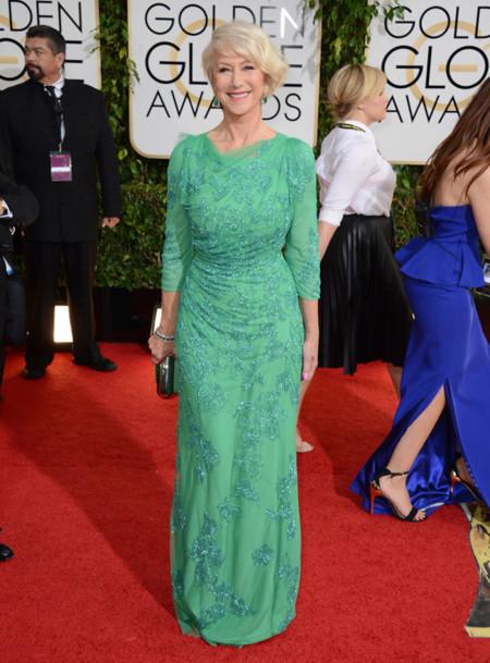 Helen Mirren Globos de Oro 2014