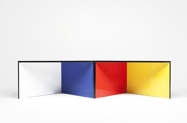 Foto de Nzela, mesa por módulos de diseño flexible (1/5)