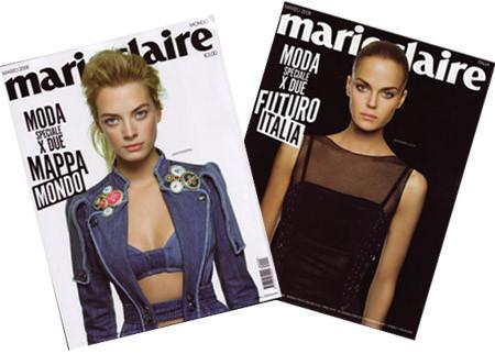Las portadas de las revistas de moda