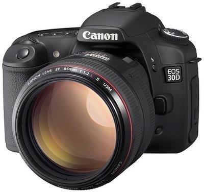 Canon 30D por fin presentada