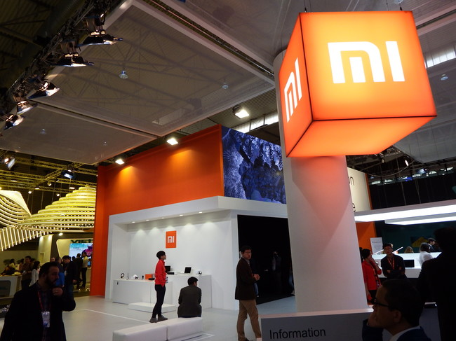"""Xiaomi en su primer MWC  un stand comedido que no pasa de un """"bazar ... 017250b74bd"""