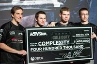 CompLexity celebra la victoria en el torneo mundial Call of Duty 2014