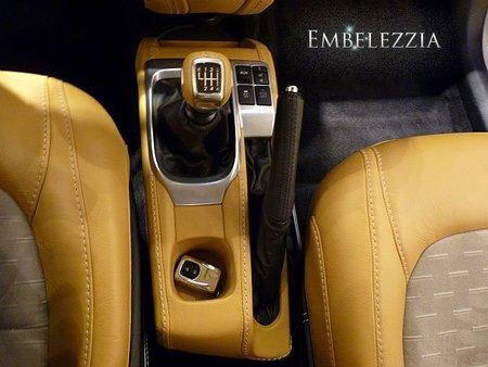 Caja de cambios del Aston Martin Cygnet