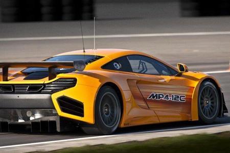 McLaren MP4-12C GT3, no podía faltar una versión de carreras
