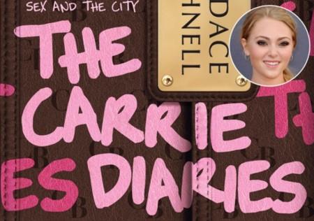 """Inocencia, picardía y tafetán. Los nuevos looks del set de """"Carrie Diaries"""""""