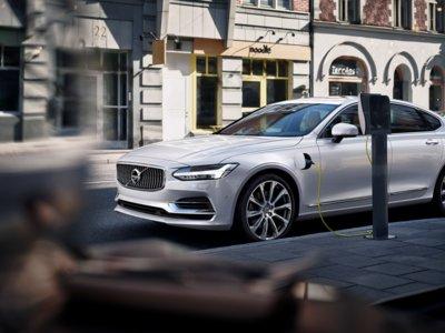 El Volvo S90 híbrido enchufable será presentado en el próximo Salón de Detroit