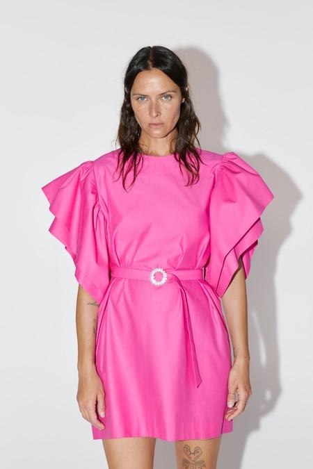 Vestido Fucsia Zara 04