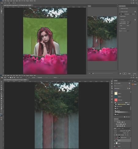 Eliminar elementos de imagen en photoshop