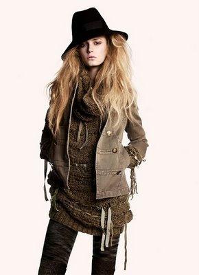 H&M jersey lana