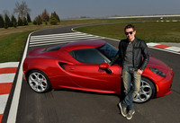 Jorge Lorenzo conducirá el Alfa Romeo 4C Safety Car de Superbikes