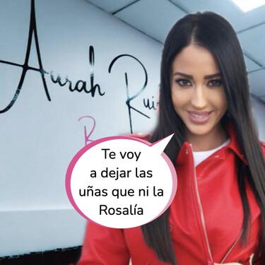 Aurah Ruiz muestra su nueva clínica estética: un local en color fucsia que podría confundirse con un bazar chino