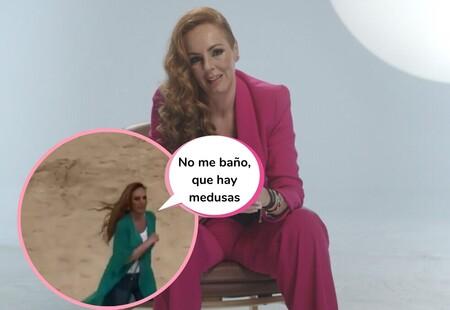 Rocío Carrasco aparece en la playa de Chipiona y todo el mundo se pregunta qué hace allí: este es el motivo de su visita