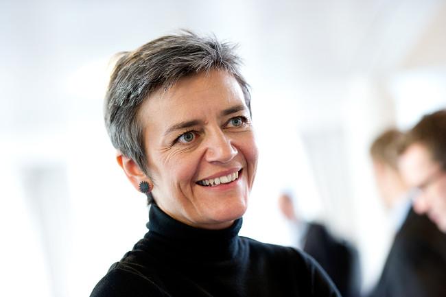 Margrethe Vestager Ekonomi Och Inrikesminister Danmark Nordiska Radets Session I Kopenhamn 2011 2