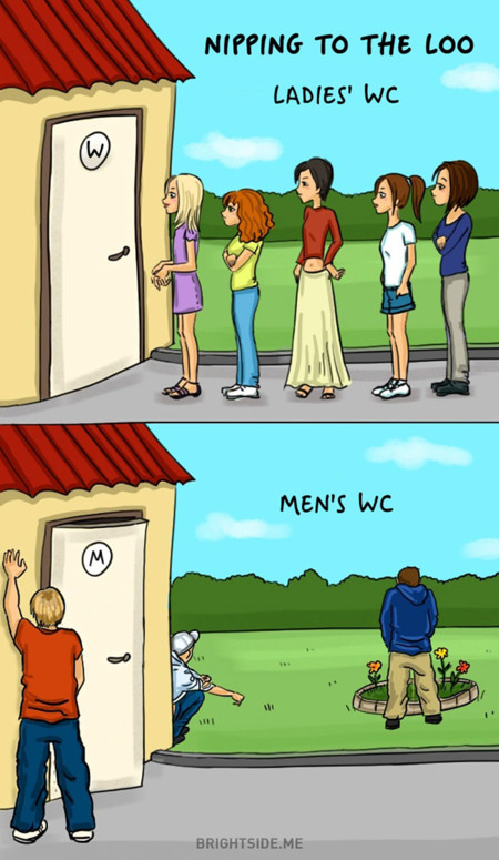 Men Women Differences Comic Bright Side 161 700