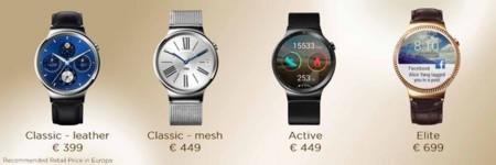Huawei Watch Precios