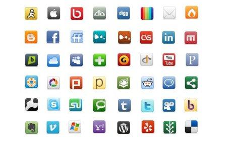 Incluir los iconos de redes sociales en una página aumenta las ventas un 25% pero no en todos los productos