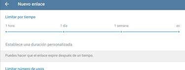 Cómo crear enlaces de invitación temporales para tus grupos o canales de Telegram