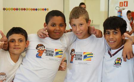 Niños Instituto Ayrton Senna