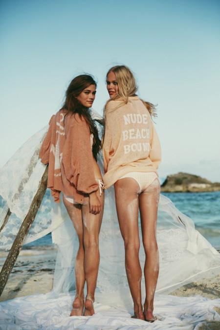 Catálogo Wildfox Lagoon Primavera 2014 camisetas con mensaje
