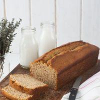 Cake de avellanas y galletas María al aroma de brandy. Receta con y sin Thermomix