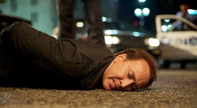 Imagen de Nicolas Cage en la película 'Contrarreloj'