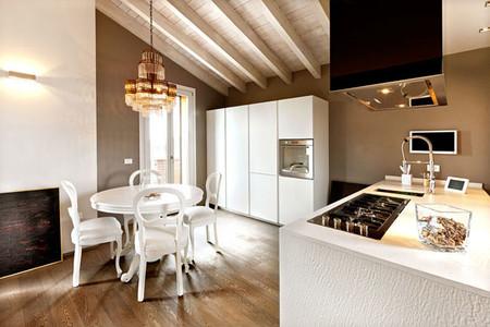 Las 5 claves de una cocina abierta perfecta for Mueble estrecho cocina
