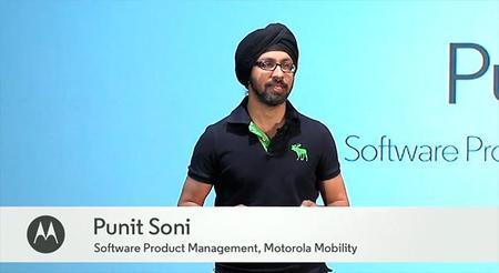 Punit Soni, el responsable de la línea Moto, deja Motorola