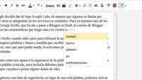 El texto predictivo llega a Blogger in draft con Google Scribe
