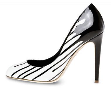 Sergio Rossi, zapatos chorreantes
