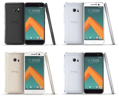 Al descubierto los cuatro colores para el HTC 10