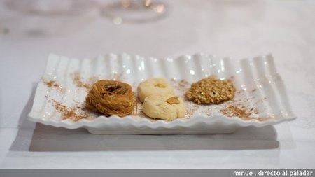 Restaurante sirio en valencia - pastelitos