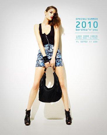 Bershka viste a la mujer joven este verano 2010: lookbook completo con todos los estilos XII