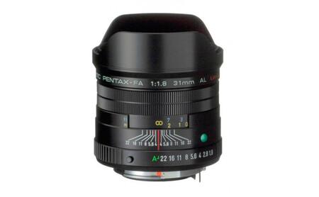Pentax 31mm F18 Fa Al Limited Negro