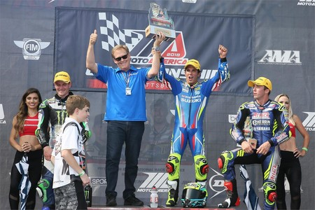 Toni Elías gana a Cameron Beaubier y mantiene las opciones de revalidar el título en MotoAmerica
