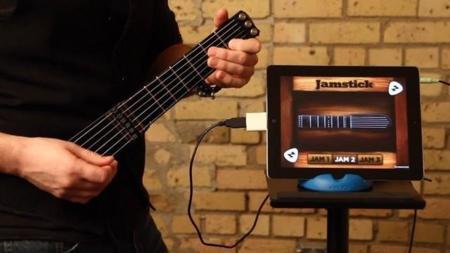JamStik, la guitarra inteligente que podrás utilizar con tu dispositivo iOS