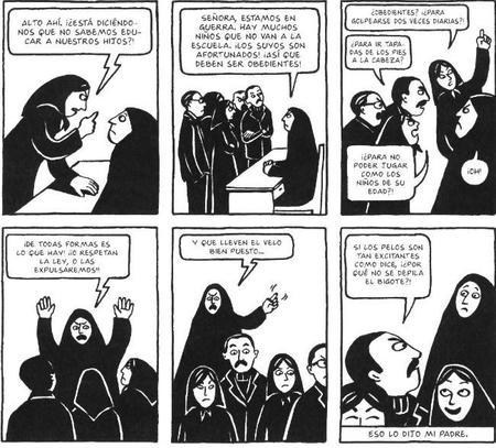 Persepolis Comic