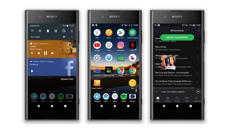 Sony Xperia Xz1, Novedades Android